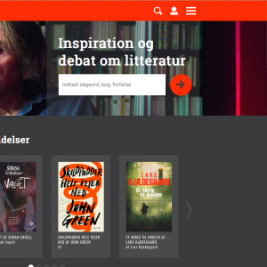 Litteratursiden lancerer nyt og inspirerende site