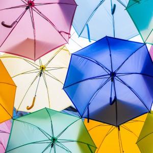 Markedsdag - med eller uden paraplyer