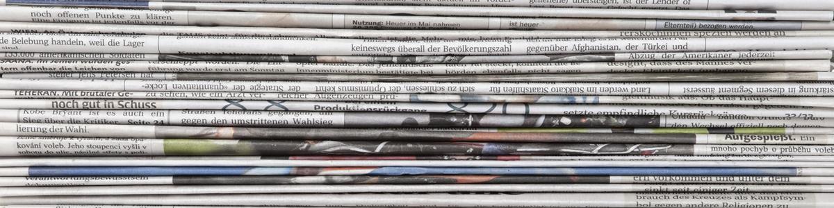 Aviser, magasiner og tidsskrifter