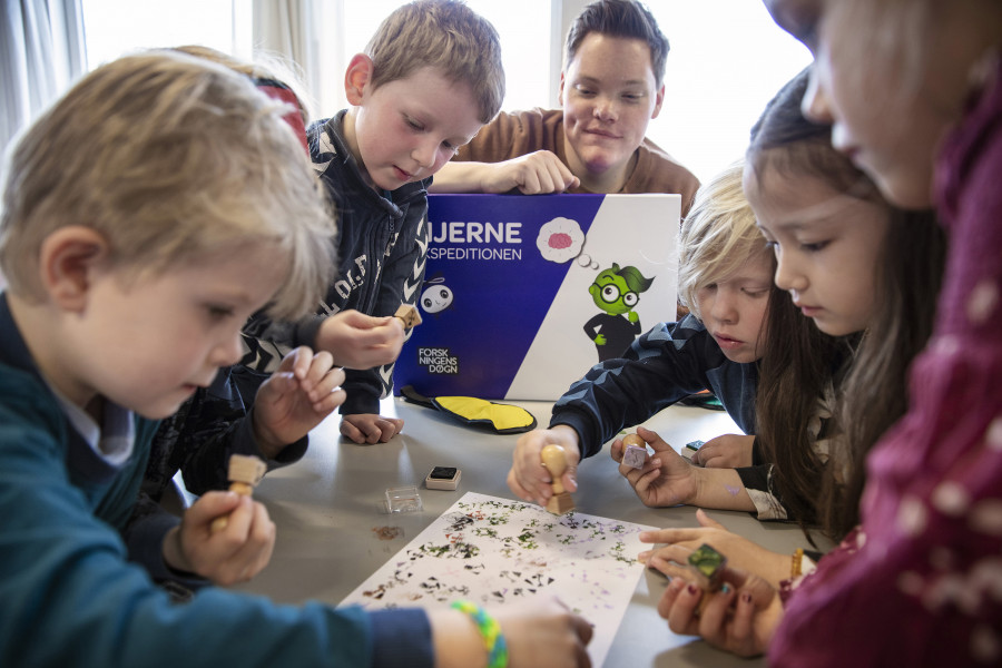 Hjerneekspedition for børnehaverne