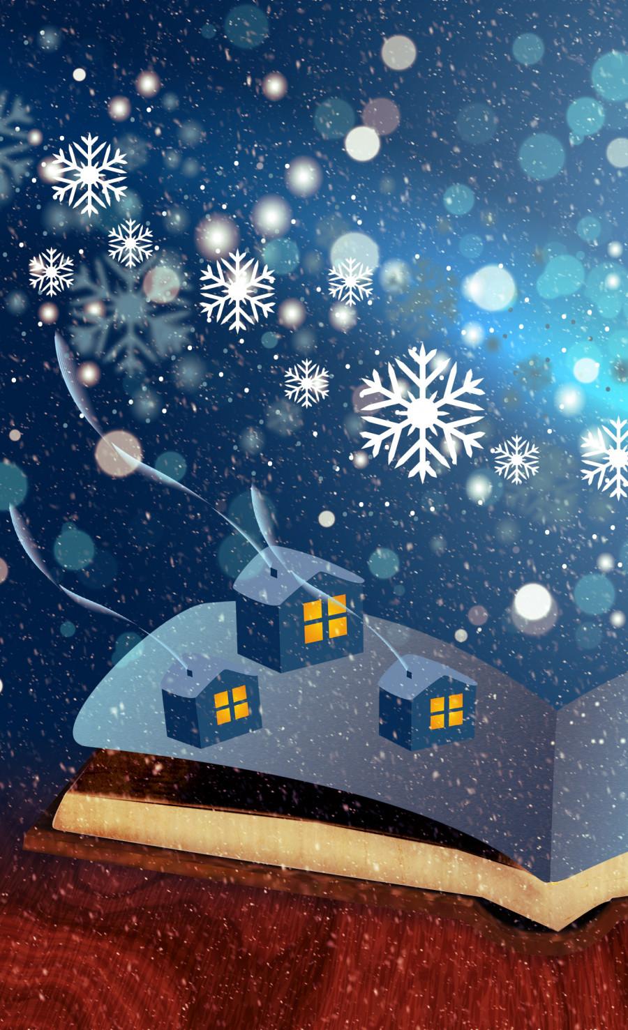 Jul og nytår på Syddjurs Bibliotek