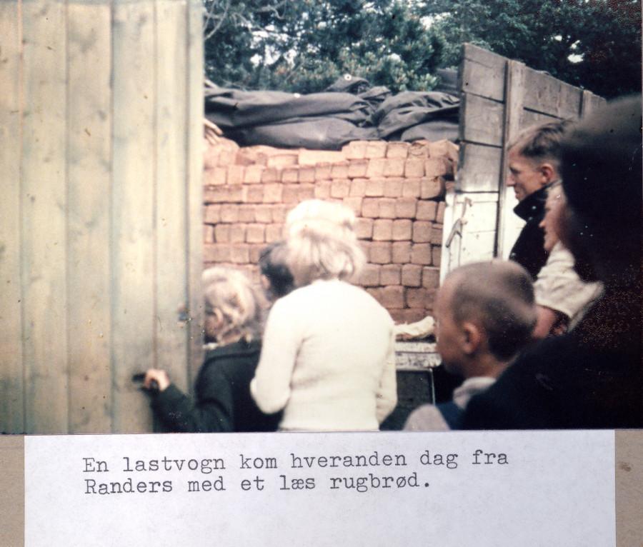 Flygtningelejre på Djursland efter besættelsen