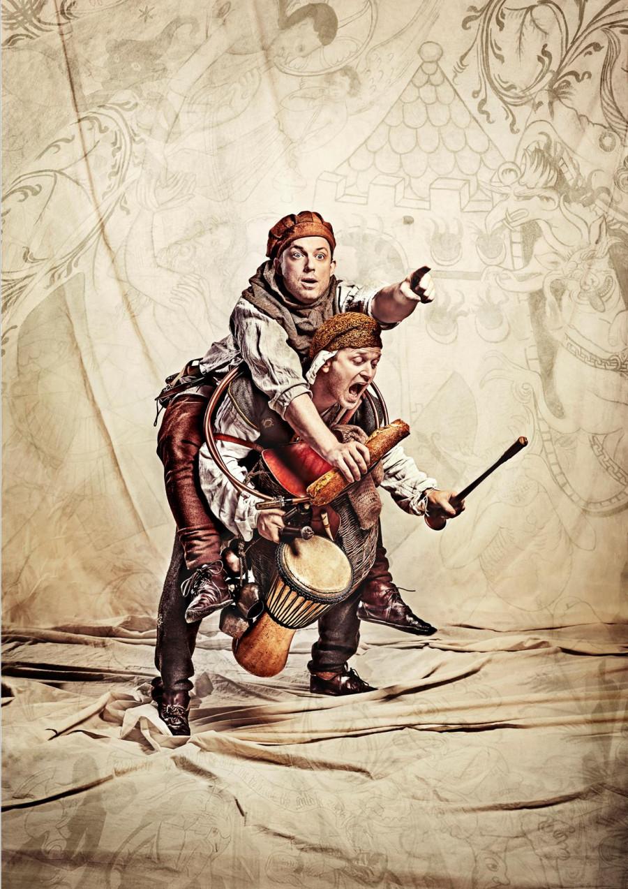 Teater for børn / Sigurd Skallesmækker i Grevens Fejde
