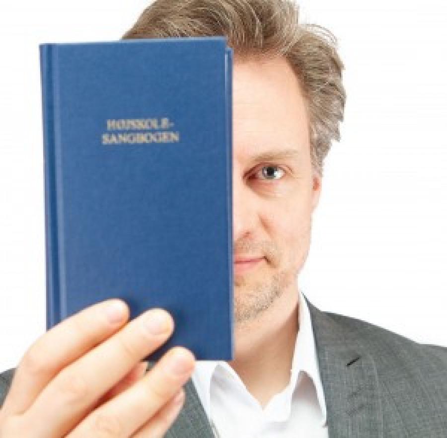 Højskolesangbogen. Foto Janne Bavnhøj