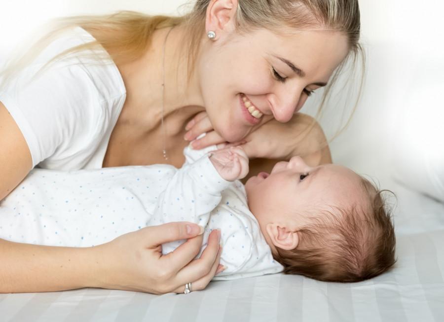 Lær at kommunikere med dit spædbarn