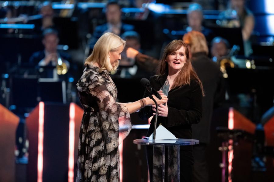 Auður Ava Ólafsdóttir modtager Nordisk Råds Litteraturpris 2018